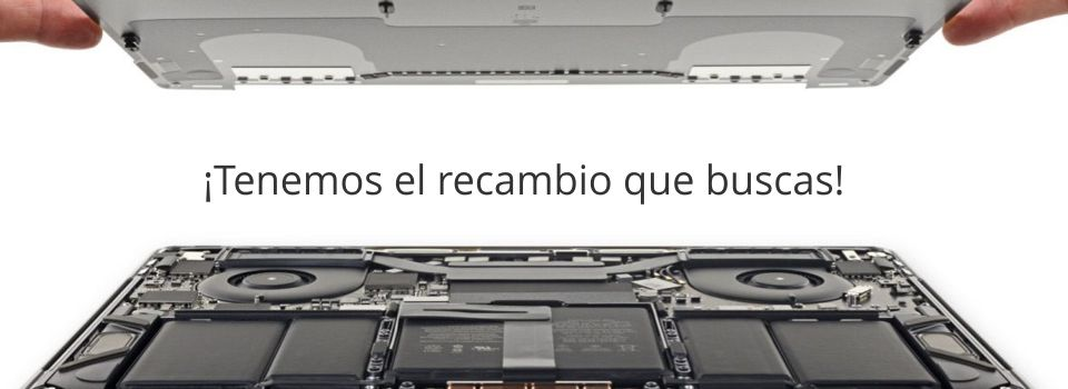 Recambios macbook